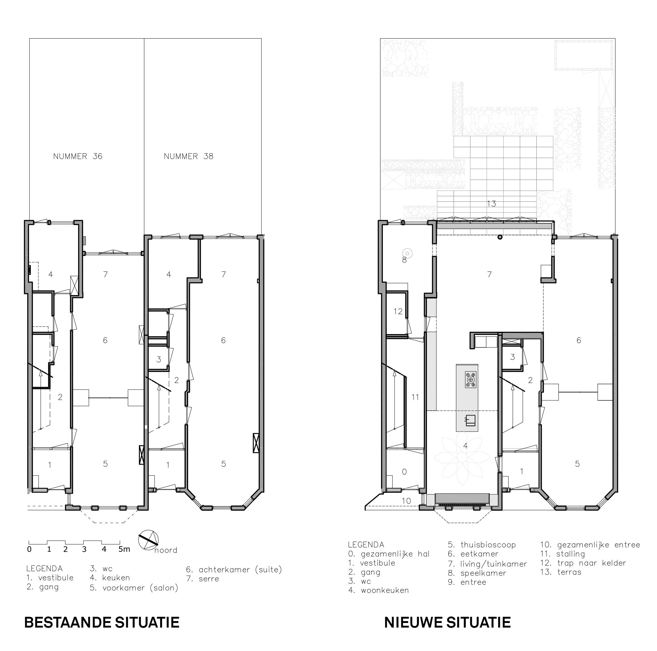 Twee herenhuizen – architect Marieke Tobias